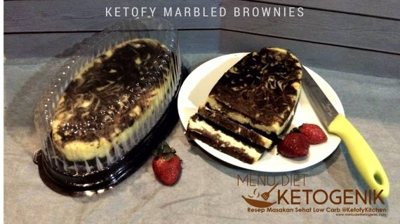 Ketofied Marbled Brownies