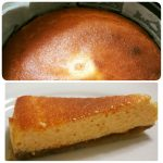 Low Carb high fat Japanese Baked Cheesecake