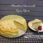 Glutten Free Flourless Cheesecake Recipe – Cheesecake Tanpa Tepung