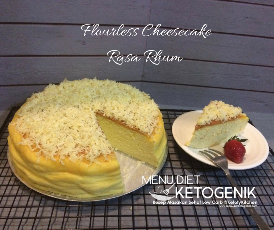 flourless-cheesecake-rhum