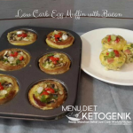 Low Carb Egg Muffins With Bacon – Muffin Telur Keto dengan Bacon
