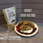 Low Carb Coconut Cacao Nibs Bars Recipe