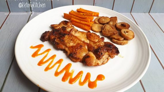 Resep Chicken Steak Panggang Keto