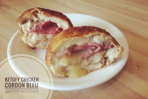 chicken cordon bleu keto