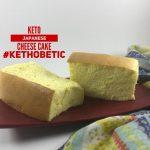 Japanese Cheesecake Keto Tepung Kethobetic